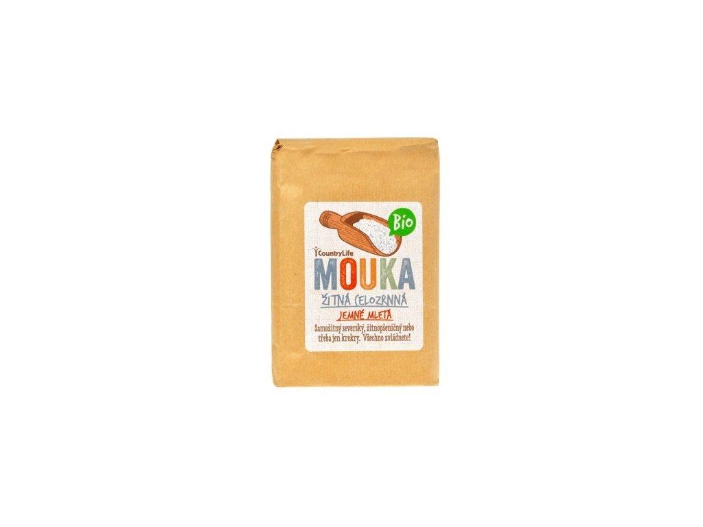 Mouka žitná celozr. hladká 1 kg BIO CL