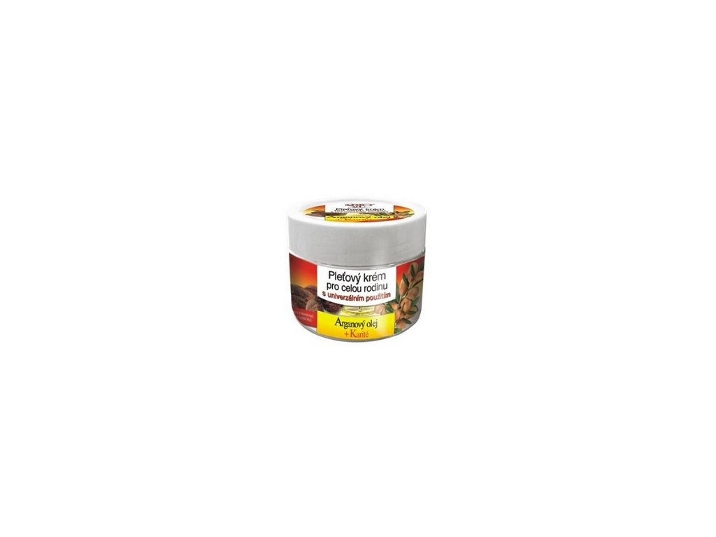 Běl - Arganový olej+ karité krém rodinný
