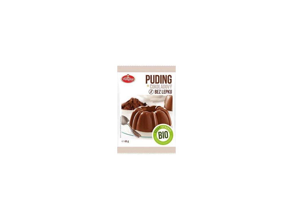 Puding čokoládový bez lepku BIO 40g