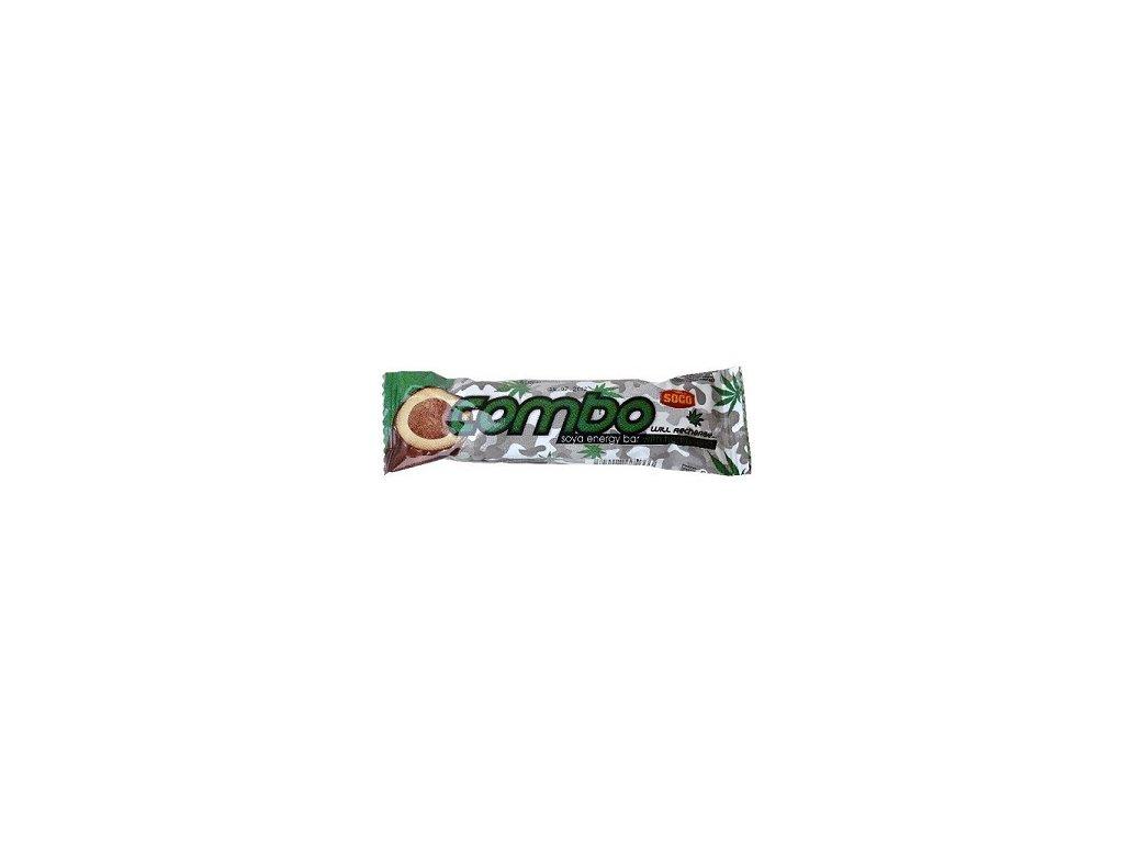 Sojový suk Combo s konopným semínkem