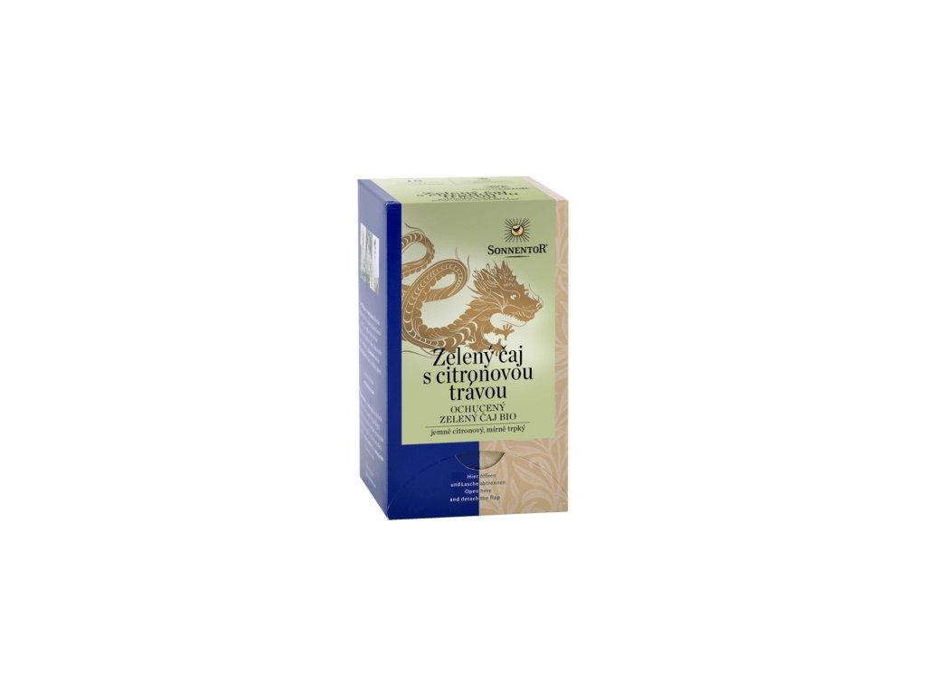 Zelený čaj s citr.trávou BIO porc. 21,6g