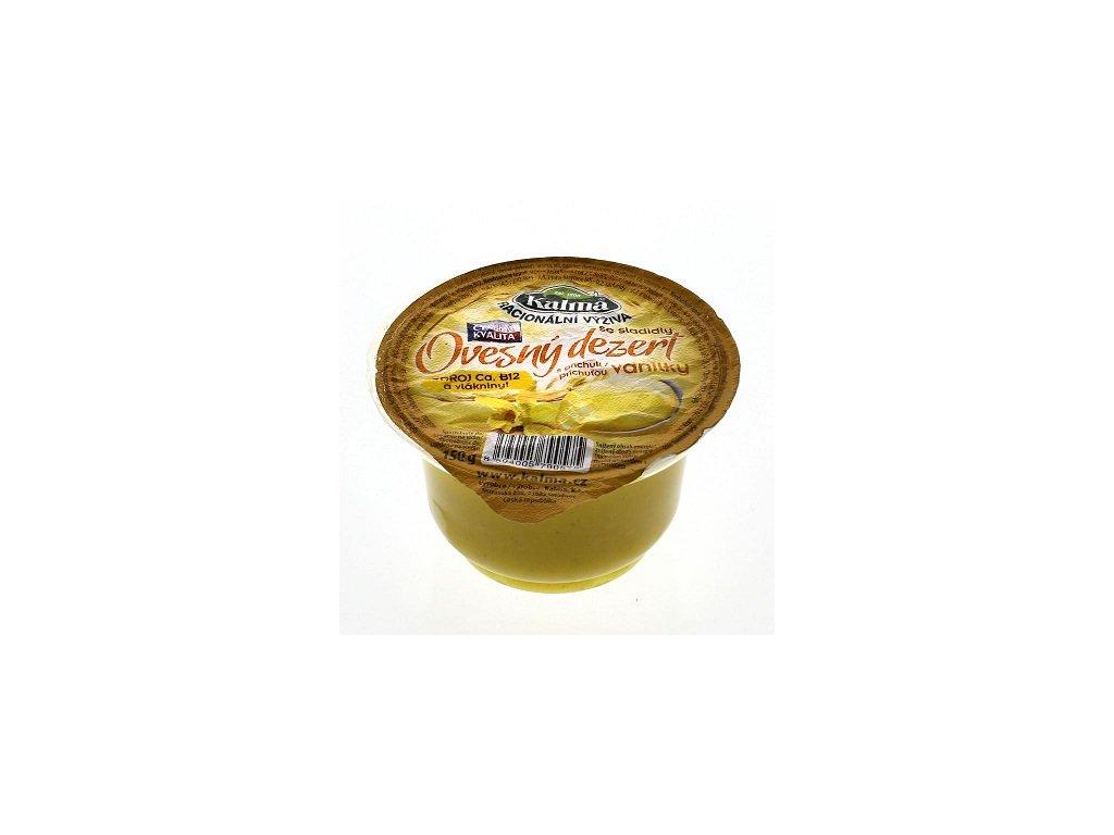 Ovesný dezert vanilka 150g Kalma