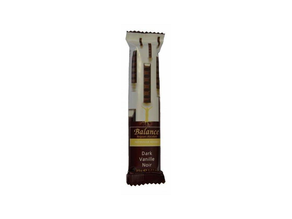 HL - Čokoládová tyčinka hořká vanilka 35g Balance
