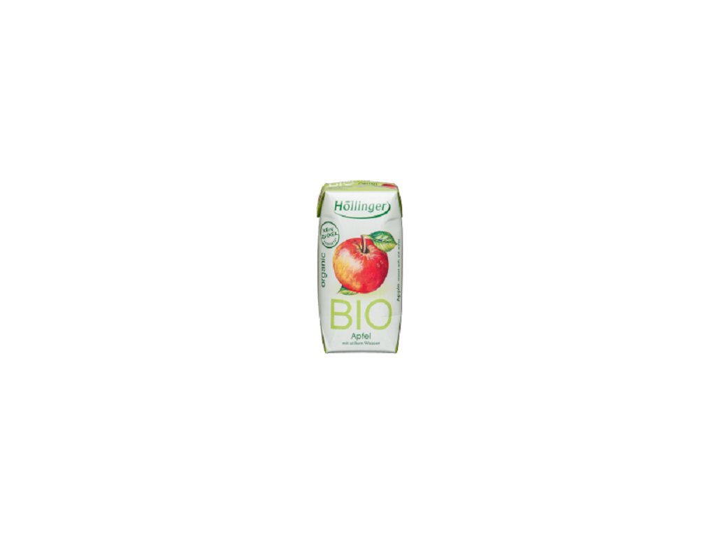 Šťáva jablko BIO 200ml Hollinger