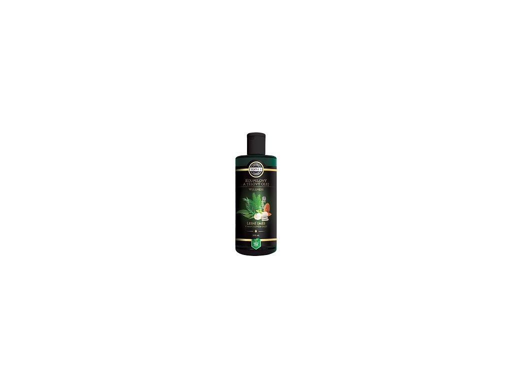 Top - Černá - Olej koup. lesní směs