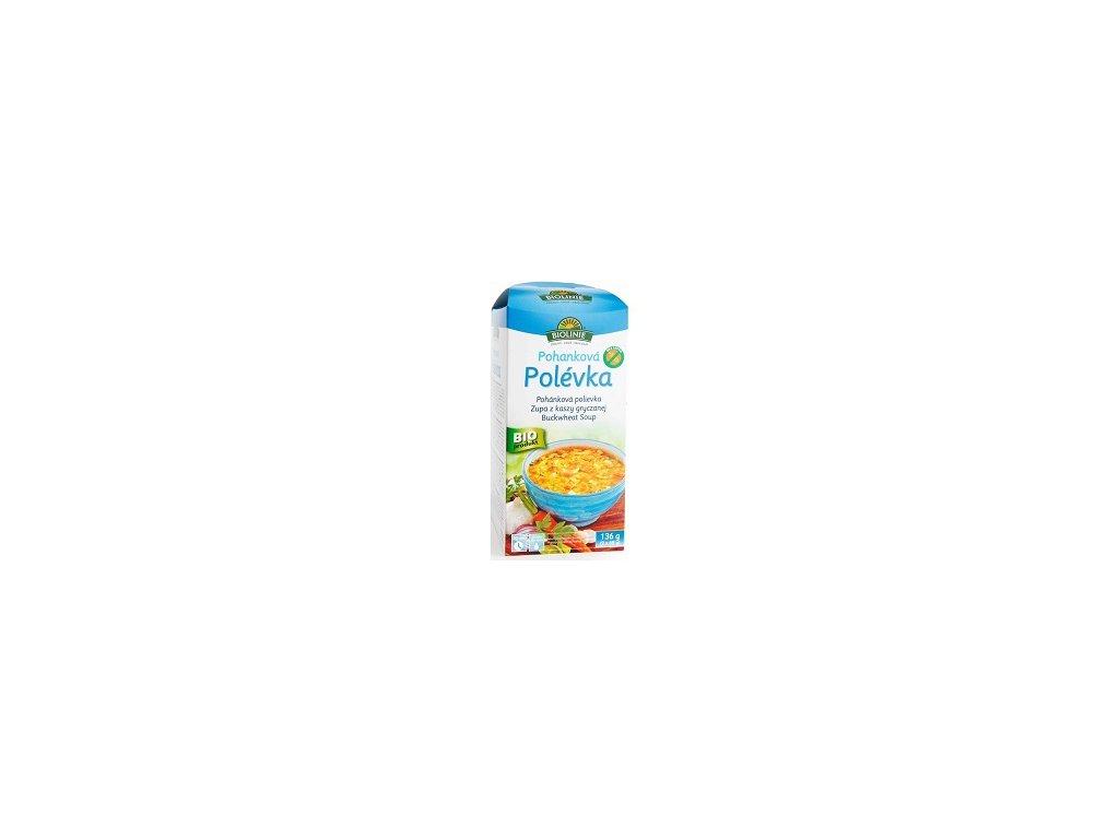 Pohanková polévka Biolinie 2x68g PB 136g
