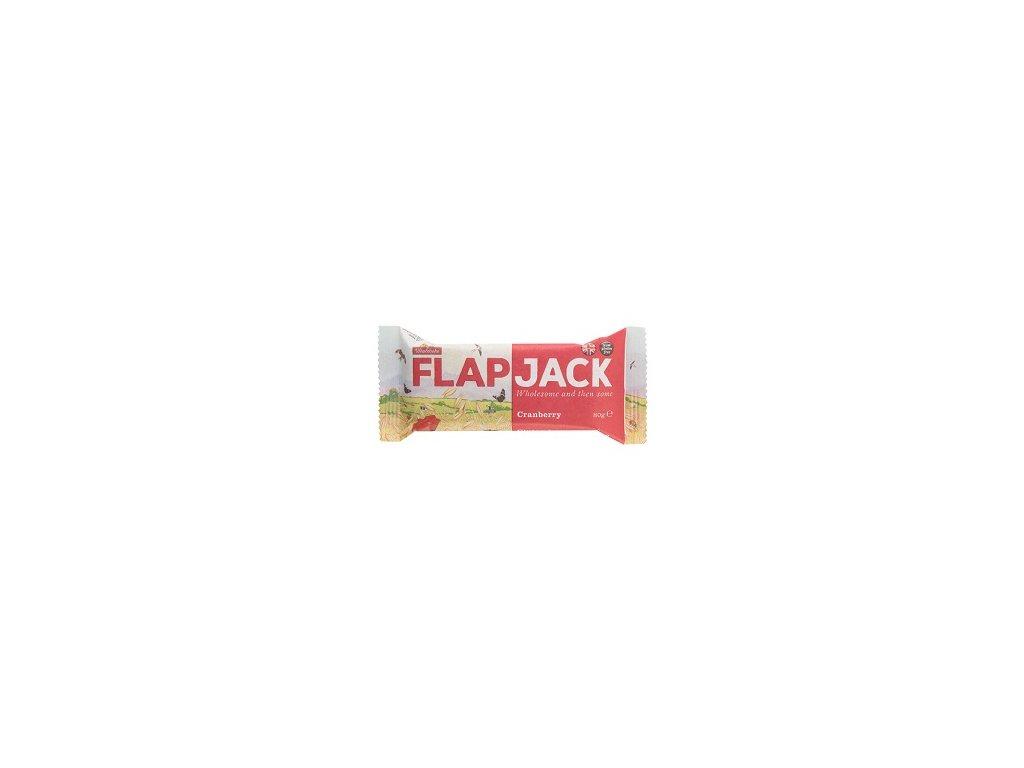 Flapjack ovesný brusinka 80g