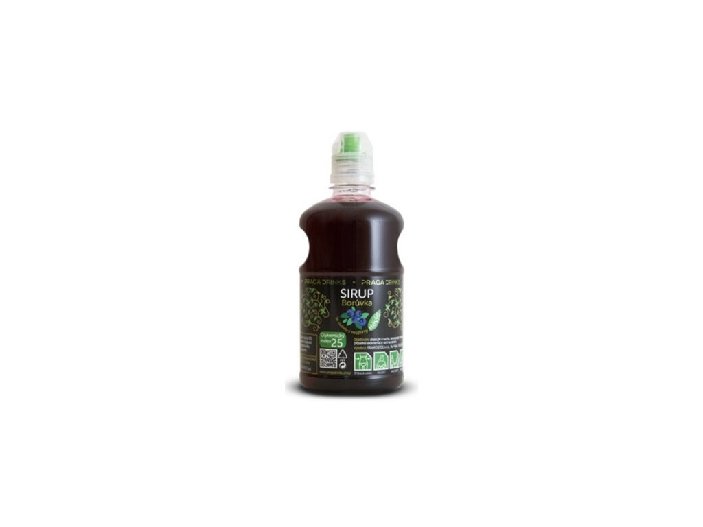 Sirup borůvka 0,65l DIA