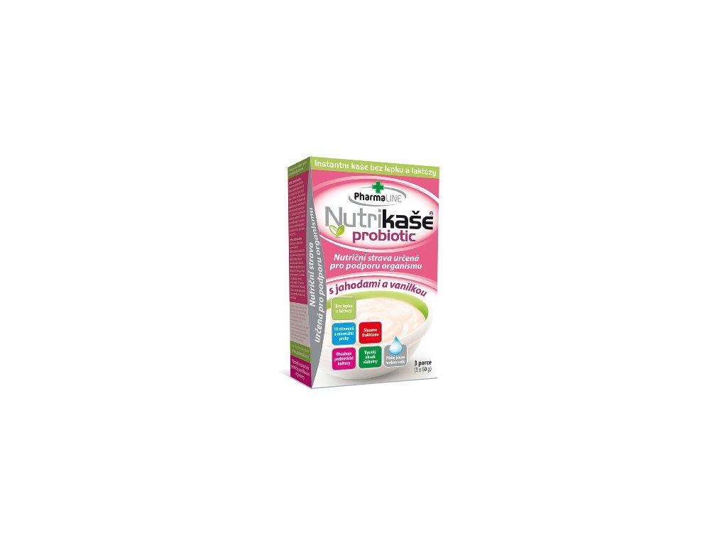 Kaše Mogador jahody vanilka bezl. 3x60g