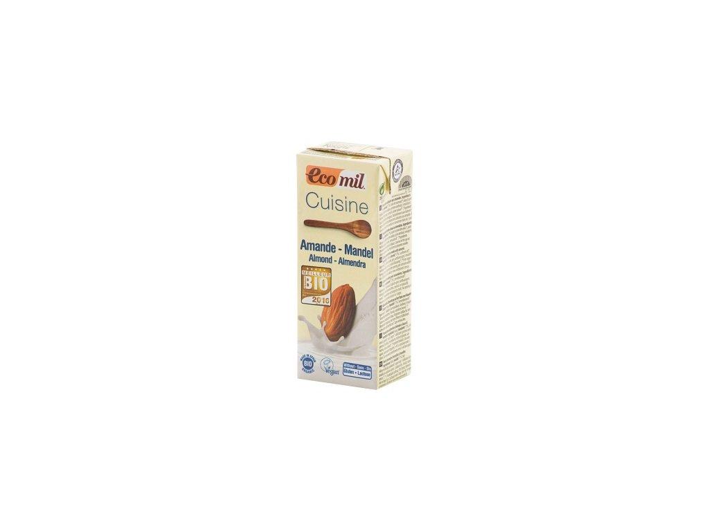 Smetana mandlová BIO 8,5% 200ml CL žlutá