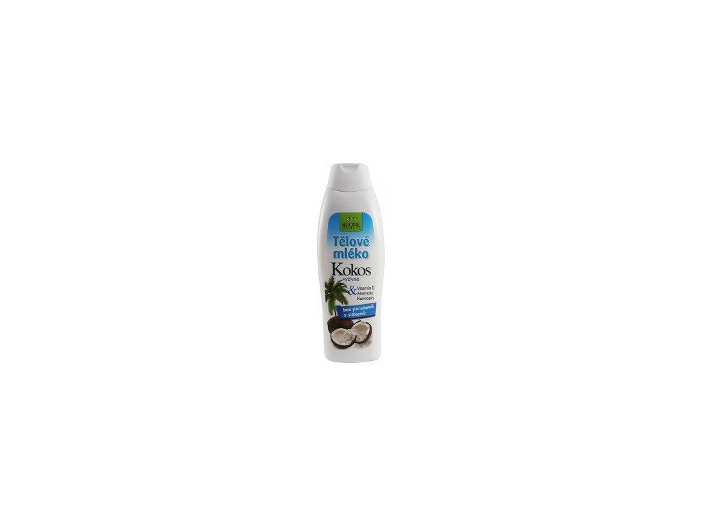 Běl - Tělové mléko Kokos 500ml