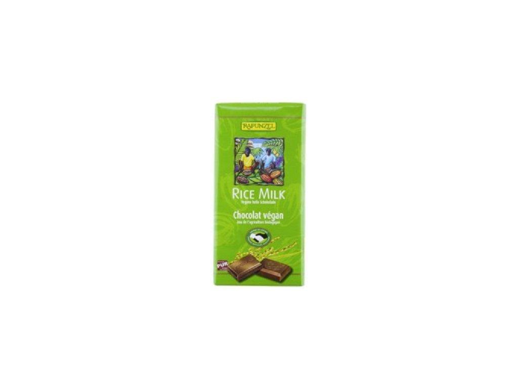 Čokoláda Rapunzel rýžová sv.zelená BIO 100g