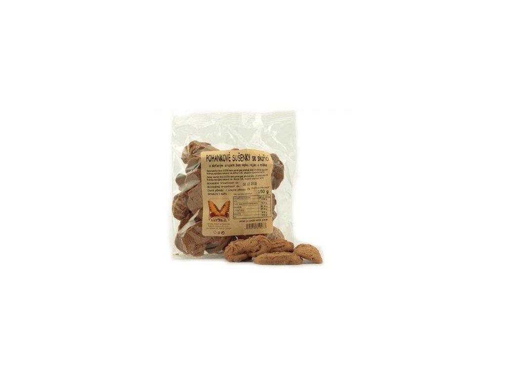Sušenky pohankové se skořicí 150g