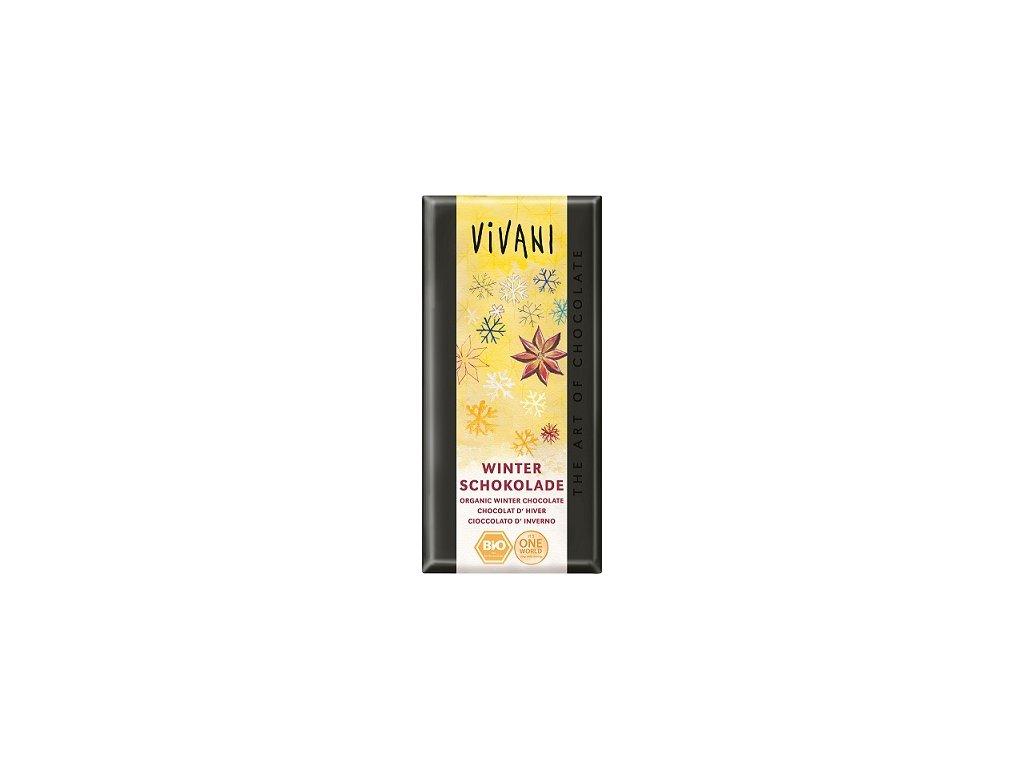 Čokoláda Vivani zimní 100g  BIO