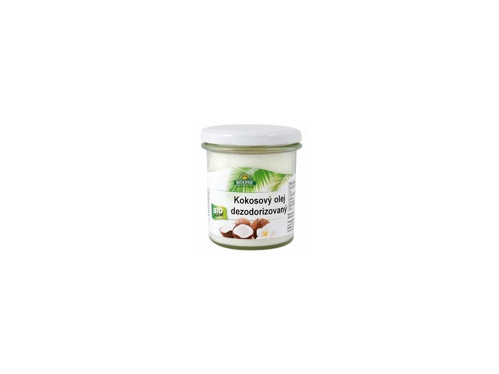 Olej kokosový dezodorizovaný BIO 240g