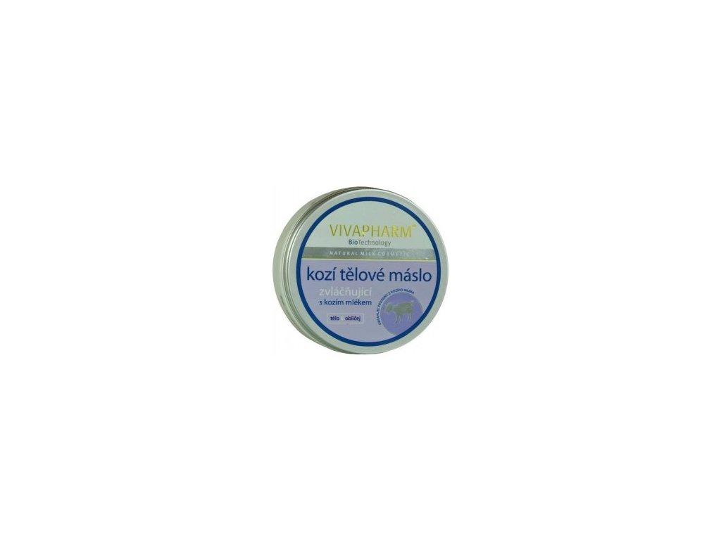 Vivaco - Tělové máslo s kozím mlékem 200ml