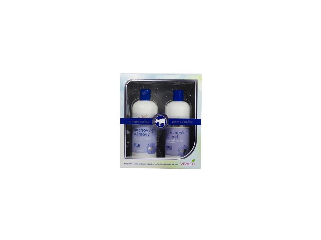 Vivaco - Kozí dárková kazeta - koupelová