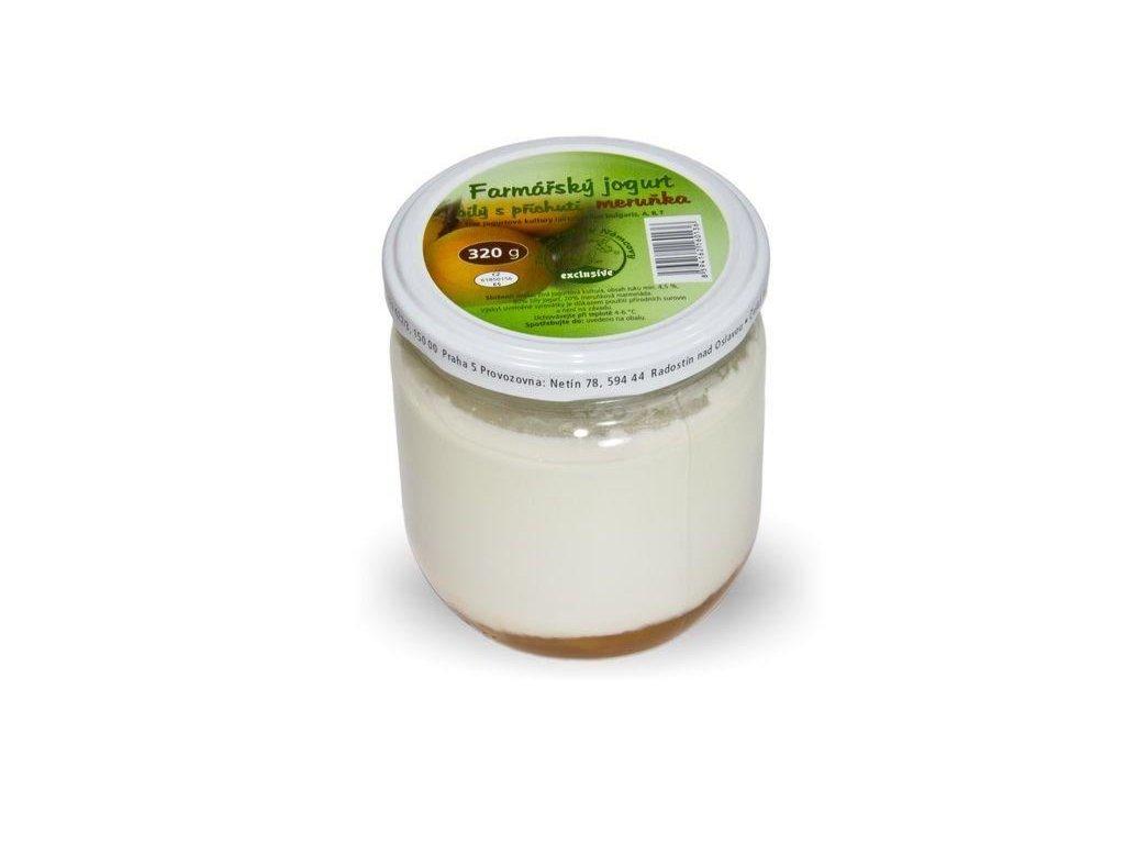 N - Jogurt meruňka 320g