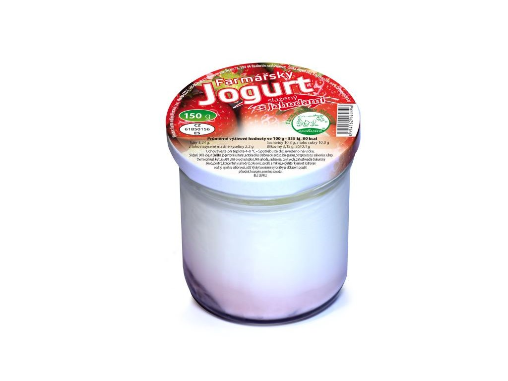 N - Jogurt jahoda 150g