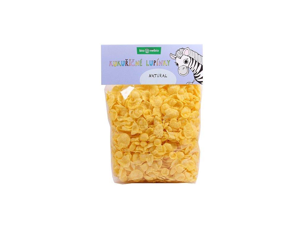 Lupínky kukuřičné natural  BIO 200g