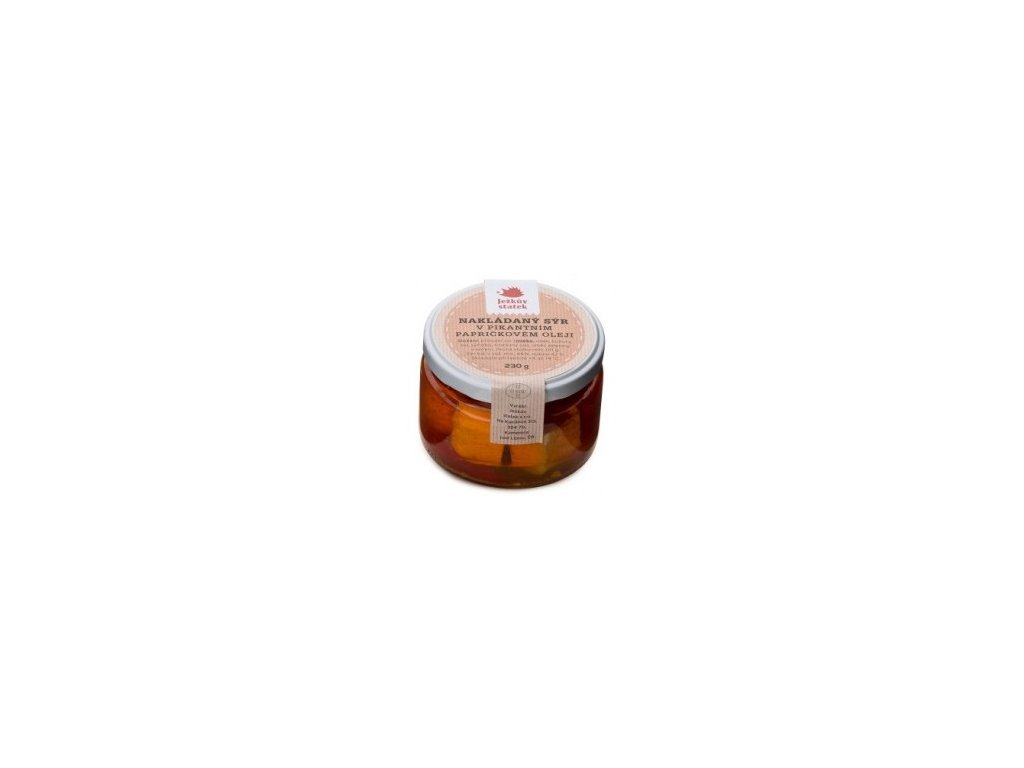 JS - Sýr nakládaný v papričkovém oleji 230g
