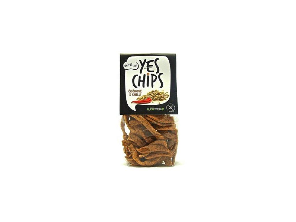 Běl - Chipsy čočkové s chilli 80g