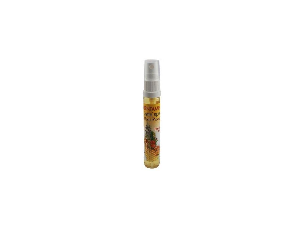 Běl - Dentamin ústní sprej med propolis