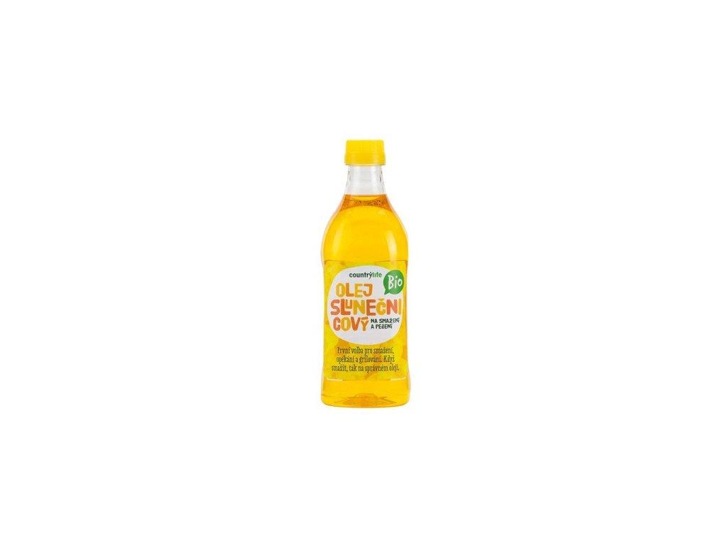 Olej slunečnicový BIO na smažení a pečení 1l
