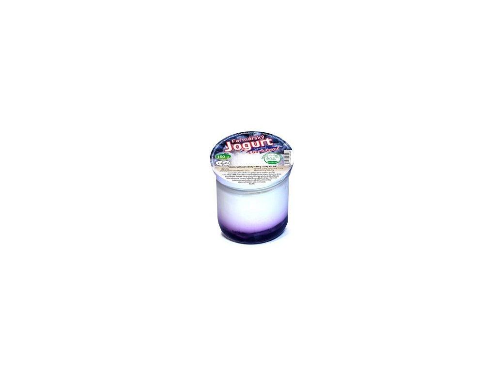 N - Jogurt borůvka 150g