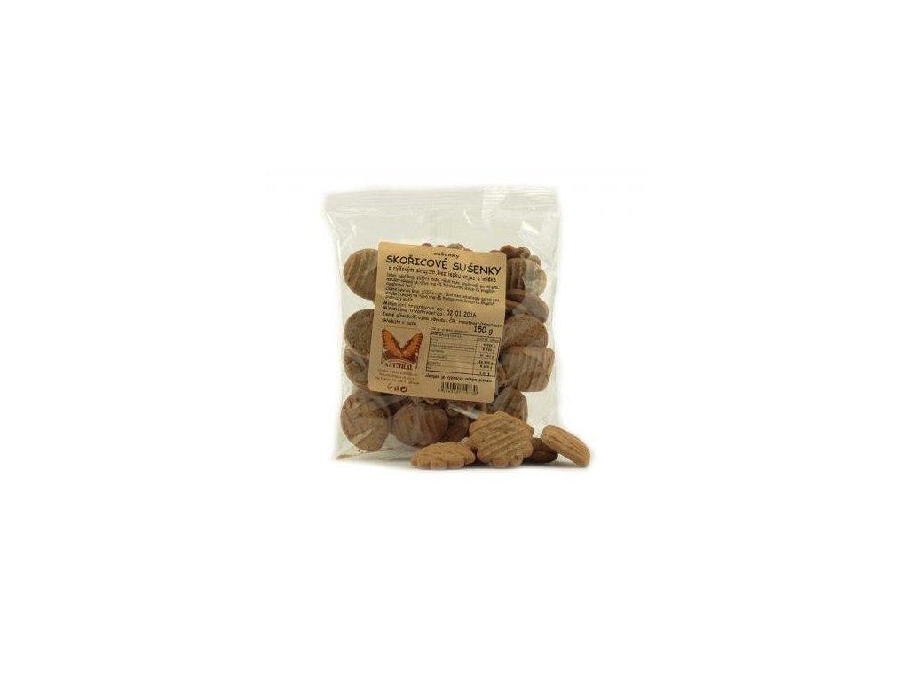 Sušenky skořicové bezlepkové 150g Natural
