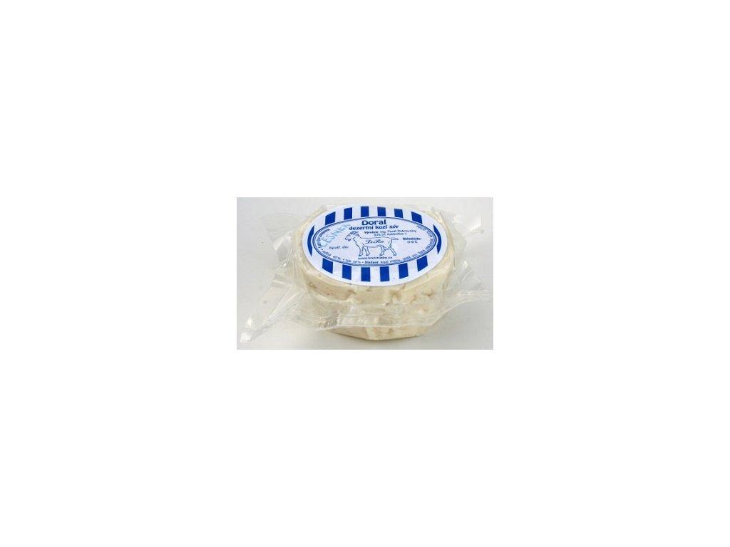 Kozí sýr čerstvý česnekový 85g DoRa