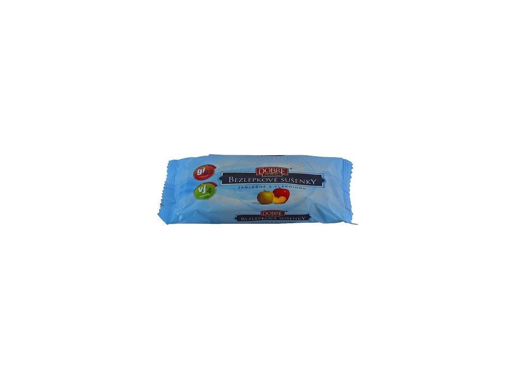 Sušenky bezlepkové jablečné pravé