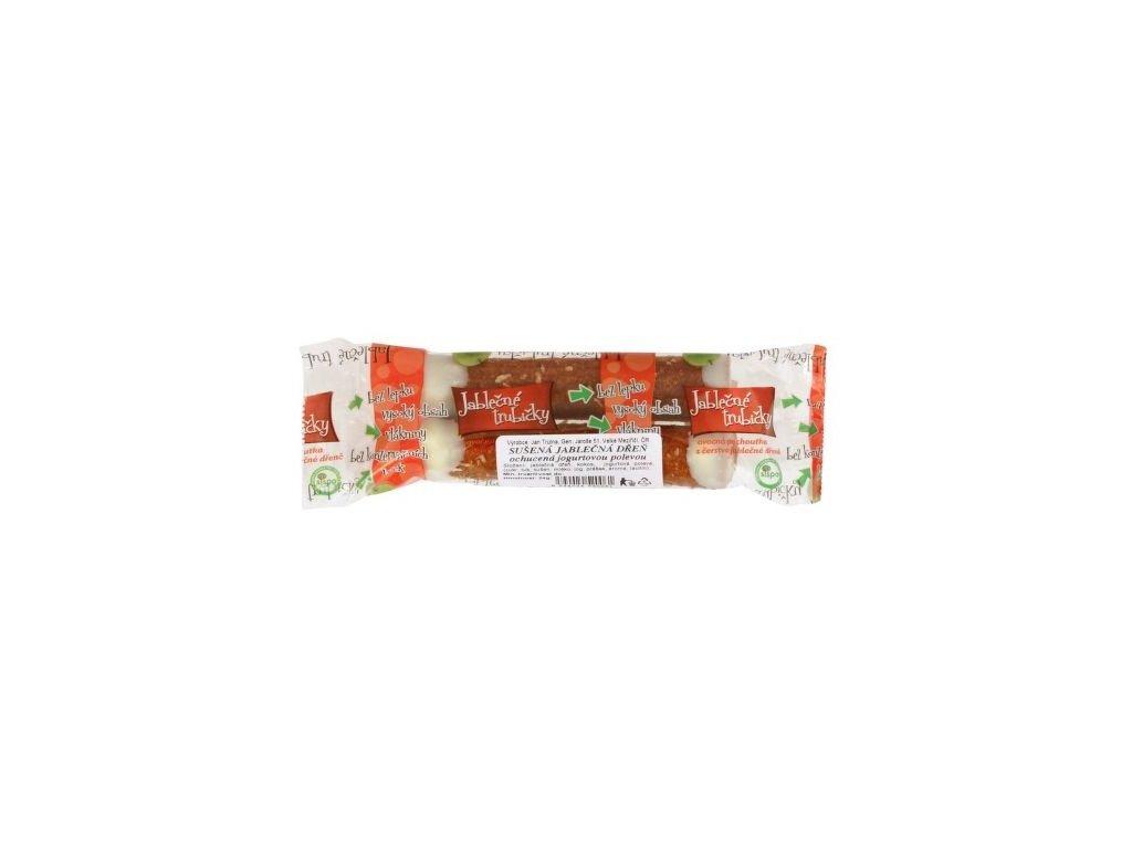 Jablečné trubička-jogurt bezlepková 25g