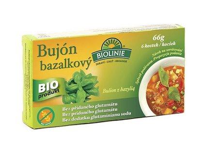 Bujón bazalkový 66g