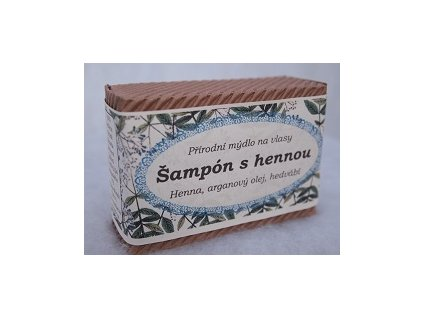 Běl - Šampon tuhý s henou argan