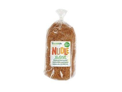 Nudle vlasové pšeničné 200g CL