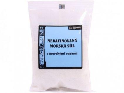 Sůl středomořská nerafin. Bio Nebio 500g