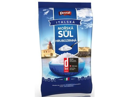 Sůl hrubá mořská 1kg Druid