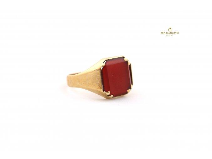 Zlatý prsten 6.97g