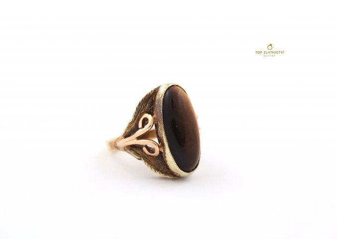 Zlatý prsten 6.64g