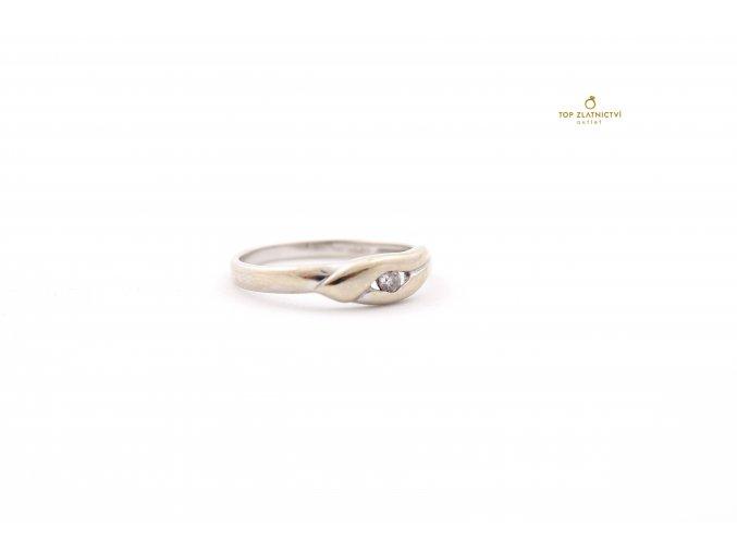 Zlatý prsten 1.79g
