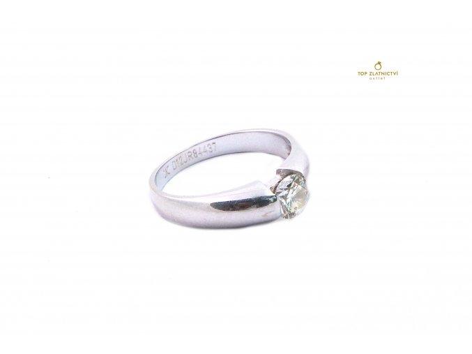 Zlatý prsten DIC s diamantem 3.23g