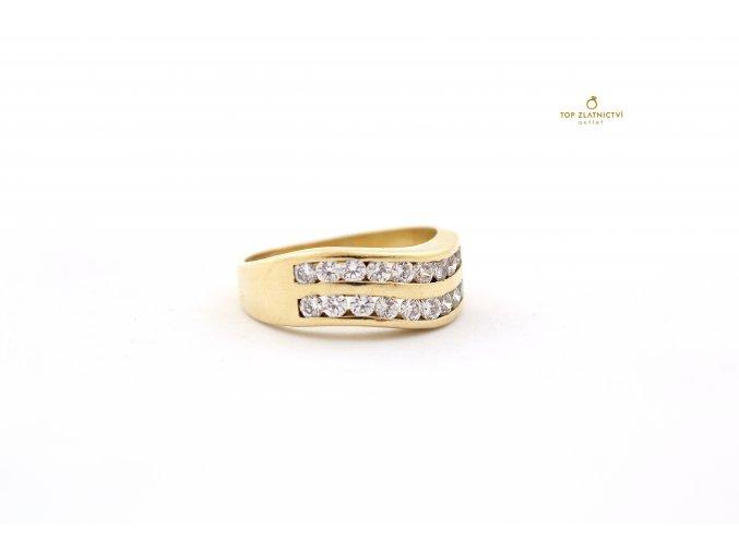 Zlatý prsten 6.76g