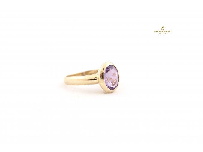 Zlatý prsten 3.06g - zlomkové zlato