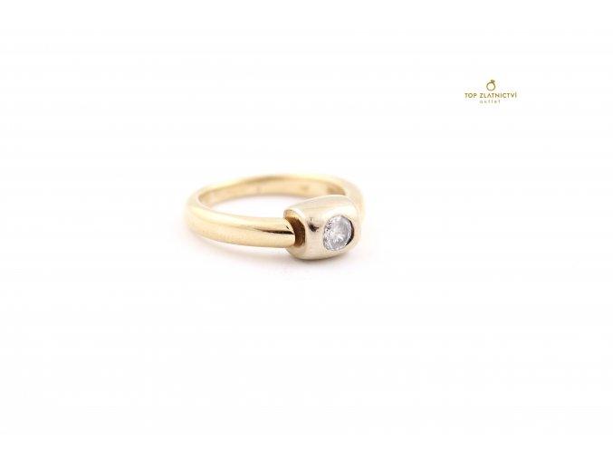 Zlatý prsten 6.12g