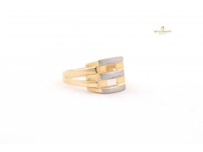 Zlatý prsten 2.59g