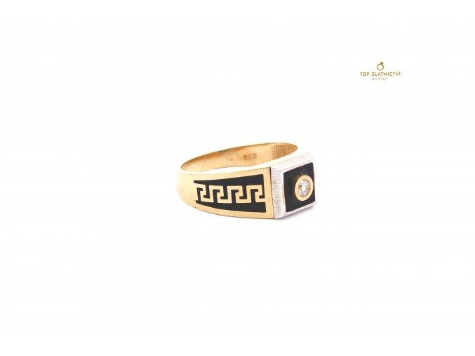 Zlatý prsten 6.77g