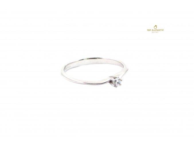 Zlatý prsten 1.64g