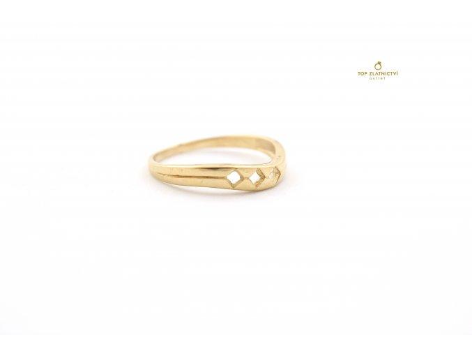 Zlatý prsten 1.88g