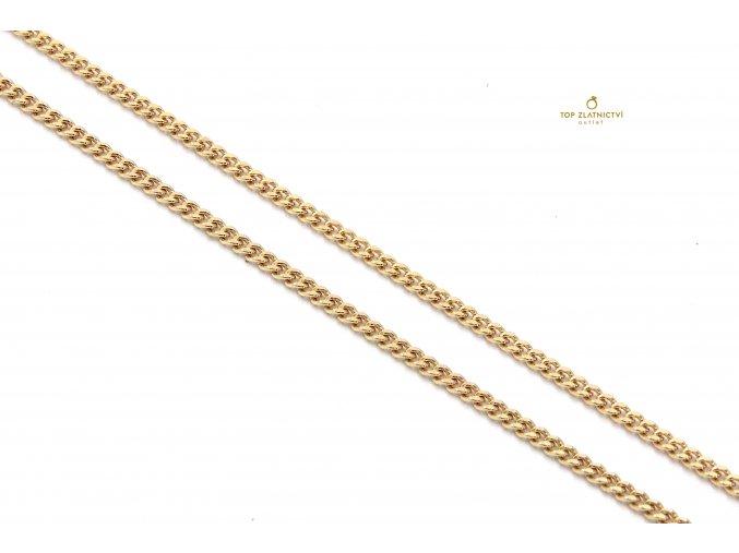 Zlatý řetízek 4.32g